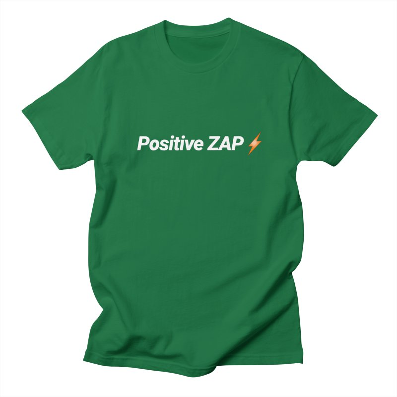 Positive ZAP!!! Men's Regular T-Shirt by Red Rust Rum - Shop