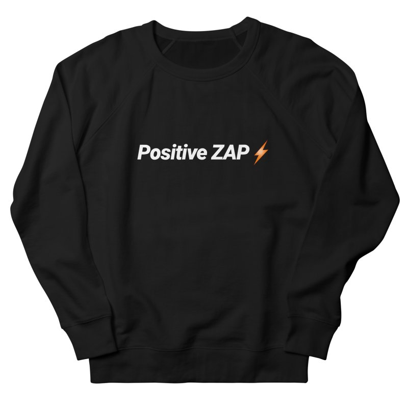 Positive ZAP!!! Men's French Terry Sweatshirt by Red Rust Rum - Shop