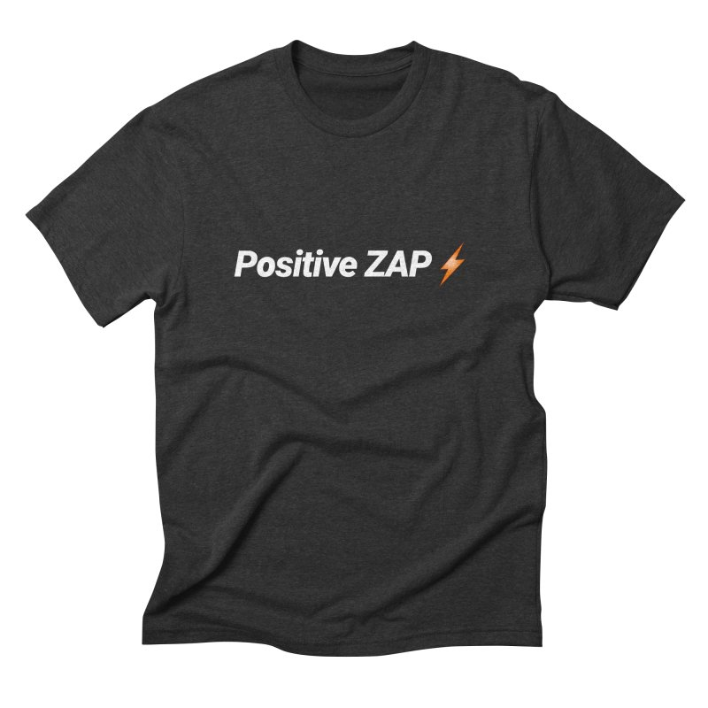 Positive ZAP!!! Men's Triblend T-Shirt by Red Rust Rum - Shop