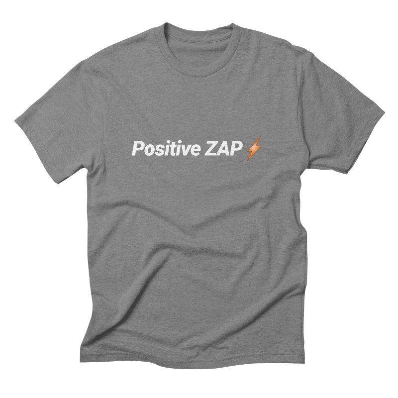 Positive ZAP!!! Men's Triblend T-Shirt by Red Rust Rum - Shop