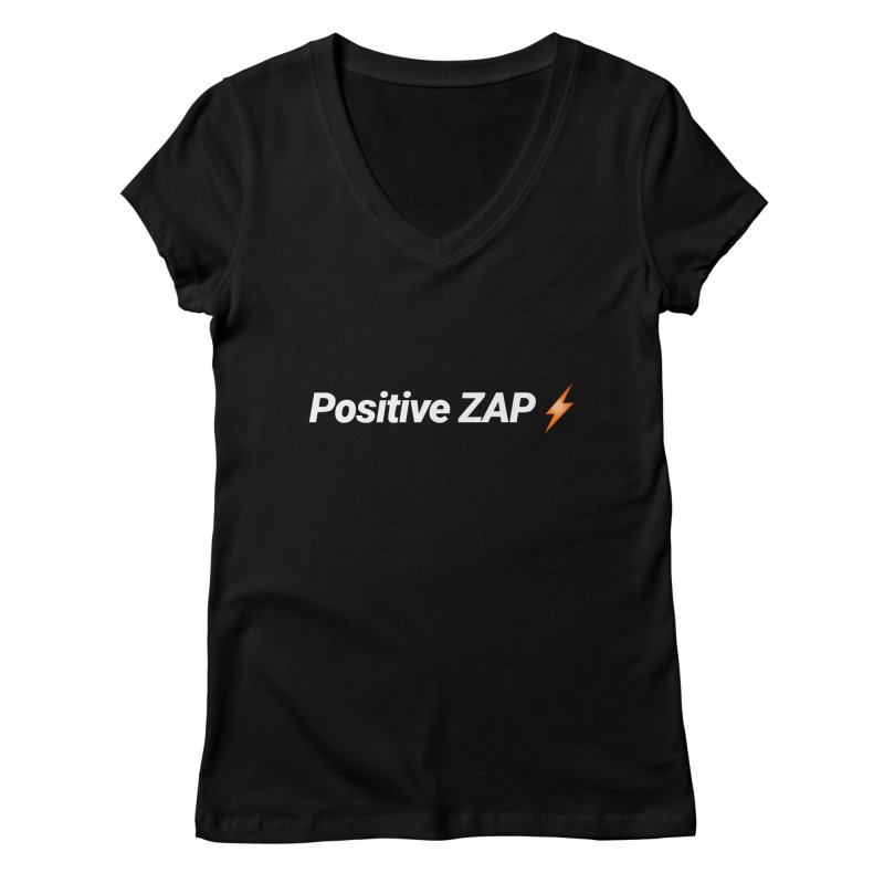 Positive ZAP!!! Women's V-Neck by Red Rust Rum - Shop