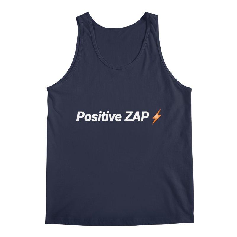 Positive ZAP!!! Men's Regular Tank by Red Rust Rum - Shop