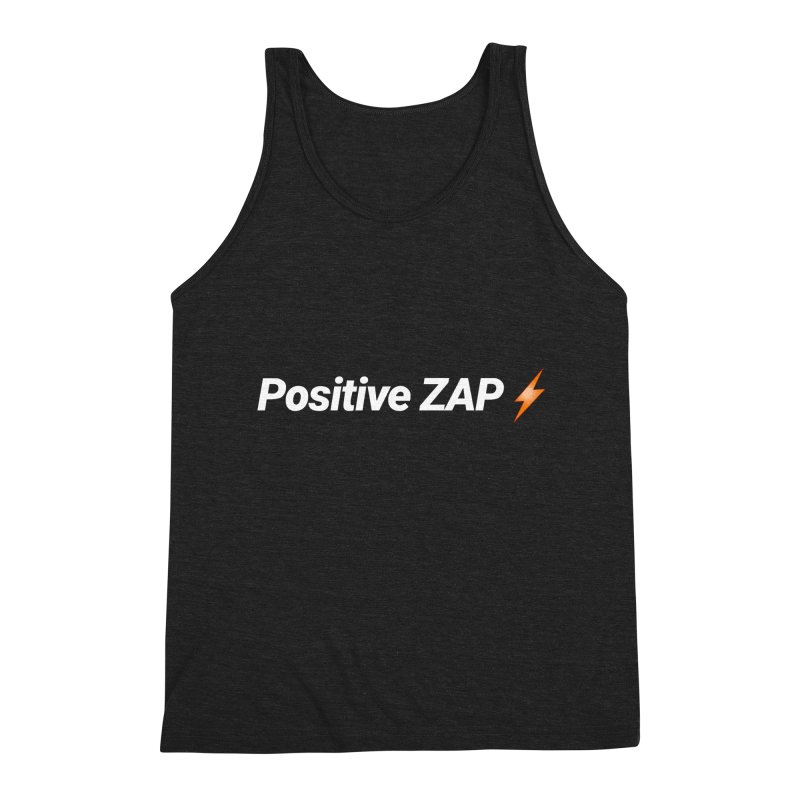 Positive ZAP!!! Men's Triblend Tank by Red Rust Rum - Shop