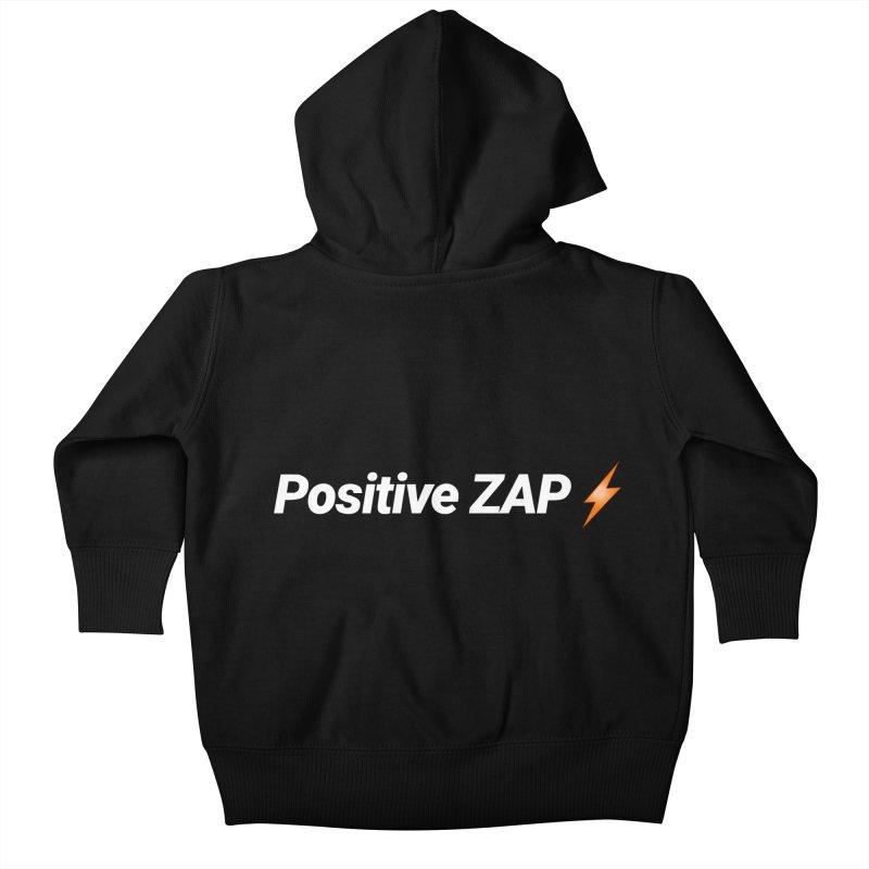 Positive ZAP!!! Kids Baby Zip-Up Hoody by Red Rust Rum - Shop