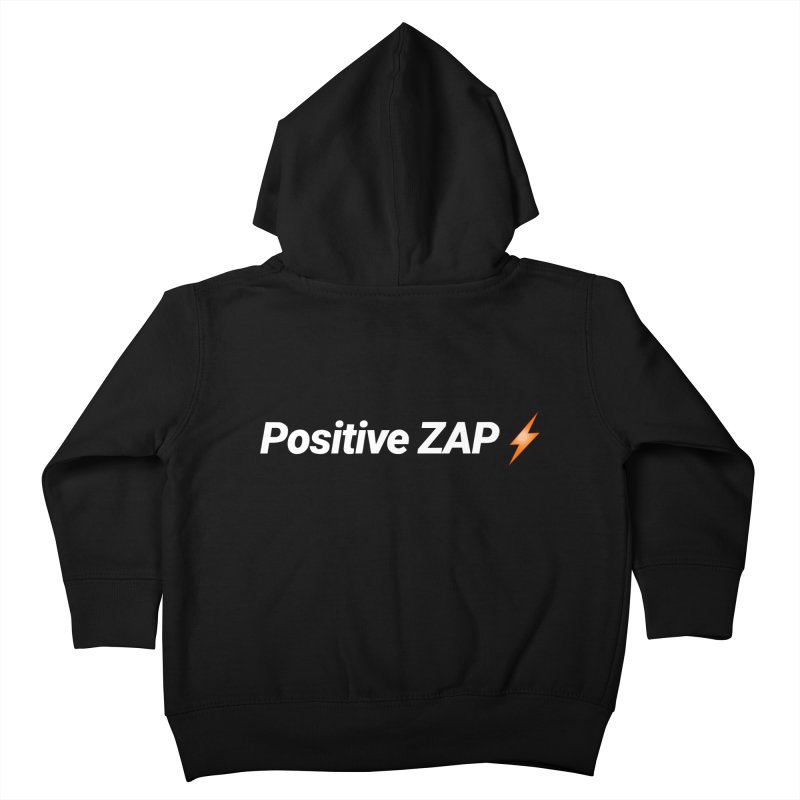 Positive ZAP!!! Kids Toddler Zip-Up Hoody by Red Rust Rum - Shop