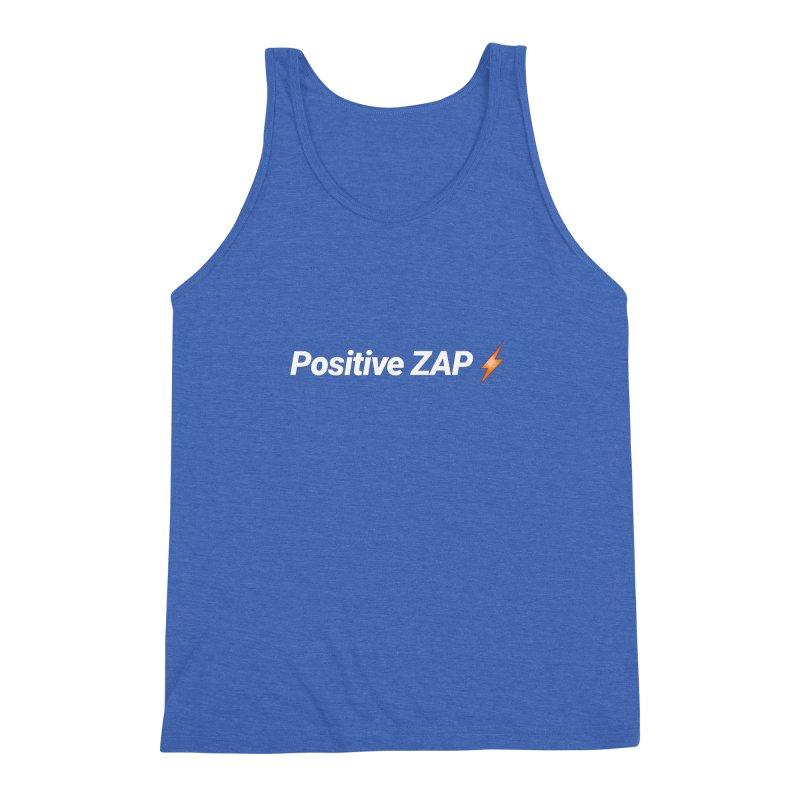 Positive ZAP!!! Men's Triblend Tank by Red Rust Rum - Shop