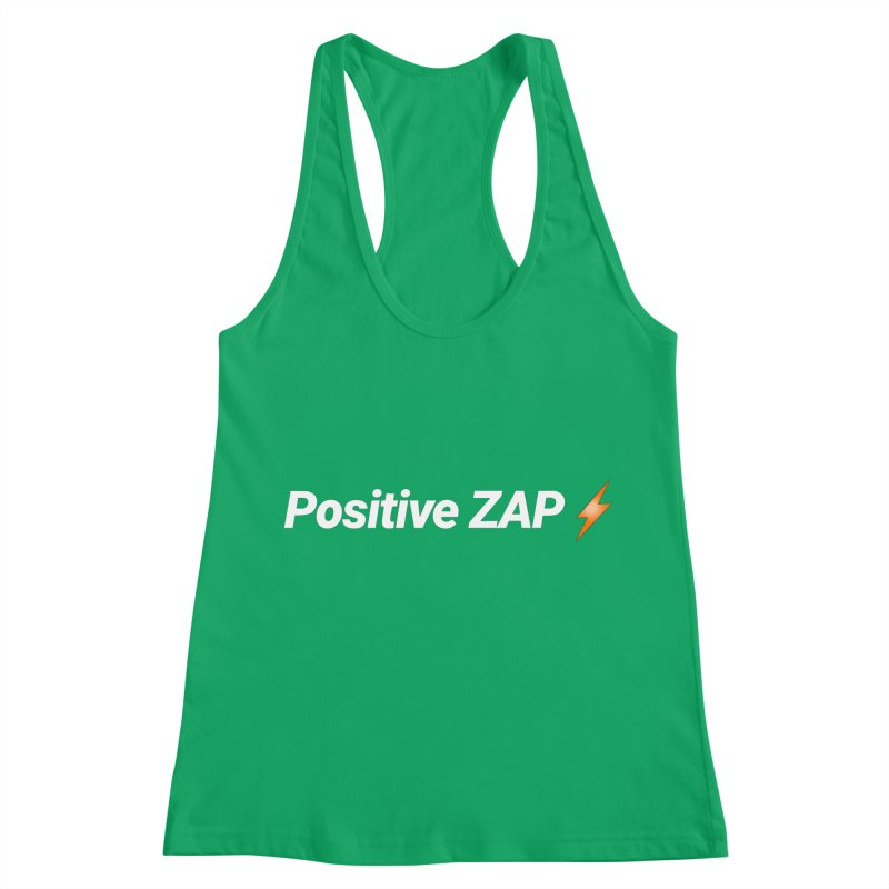 Positive ZAP!!! Women's Racerback Tank by Red Rust Rum - Shop