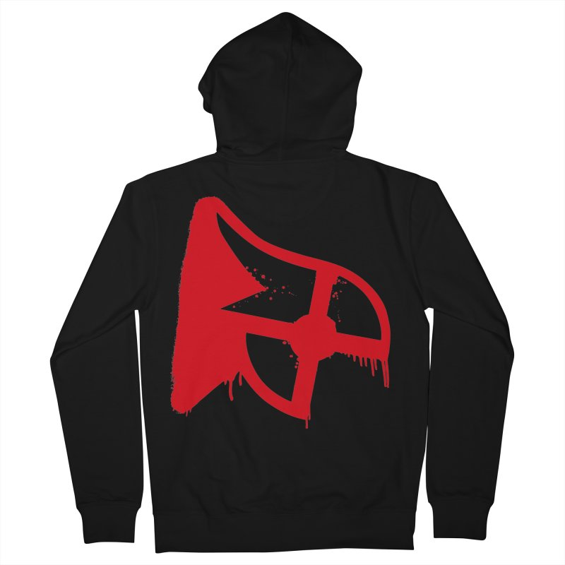Parkour Repainted Men's French Terry Zip-Up Hoody by redsun.tf merchandise shop