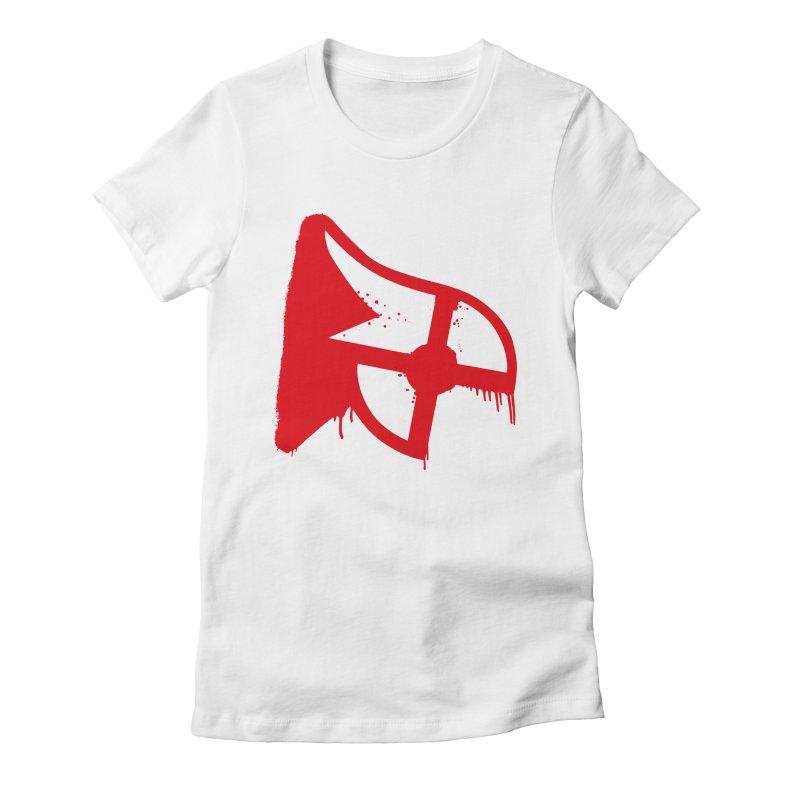 Parkour Repainted Women's Fitted T-Shirt by redsun.tf merchandise shop