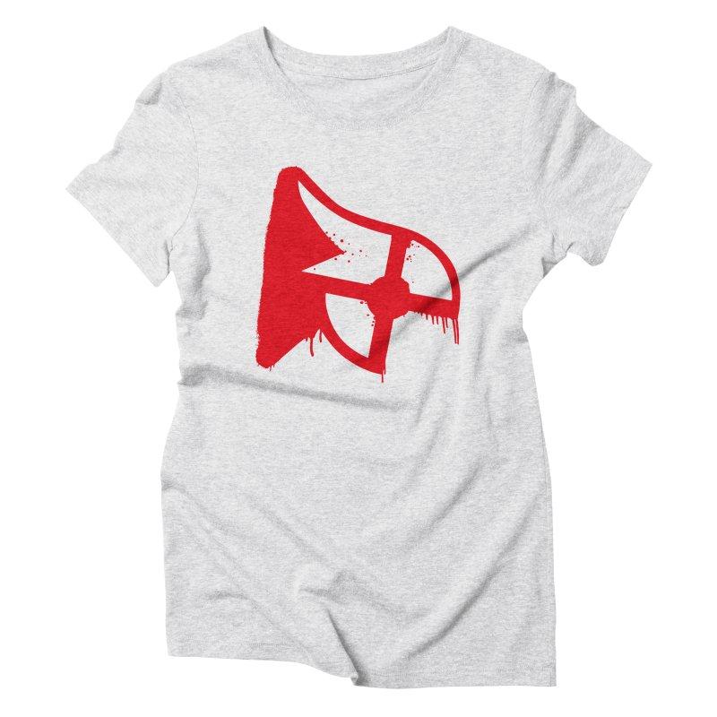 Parkour Repainted Women's Triblend T-Shirt by redsun.tf merchandise shop