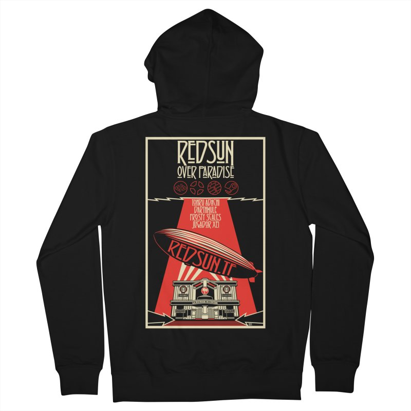 Administrative Mothership Men's French Terry Zip-Up Hoody by redsun.tf merchandise shop