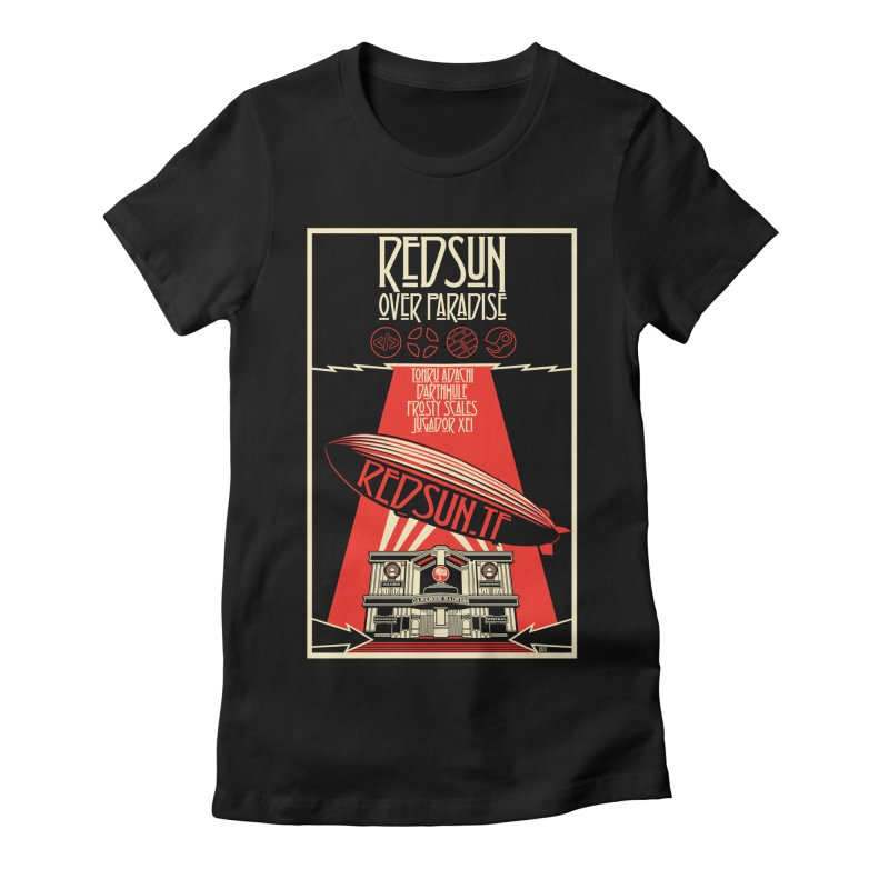 Administrative Mothership Women's Fitted T-Shirt by redsun.tf merchandise shop