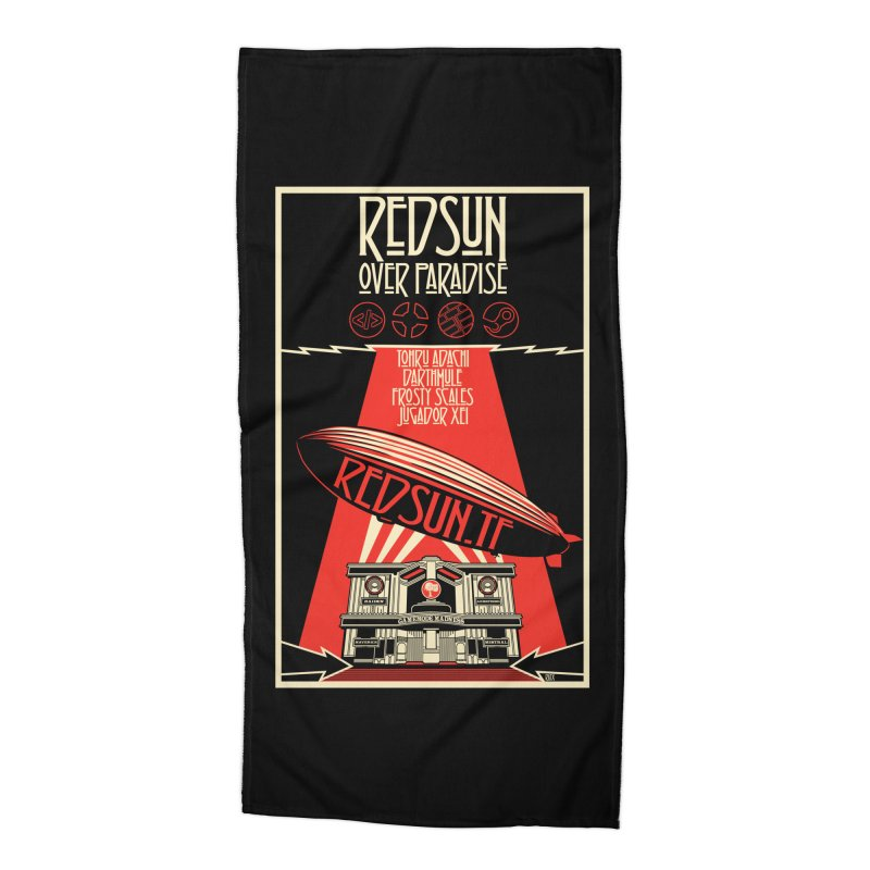 Administrative Mothership Accessories Beach Towel by redsun.tf merchandise shop