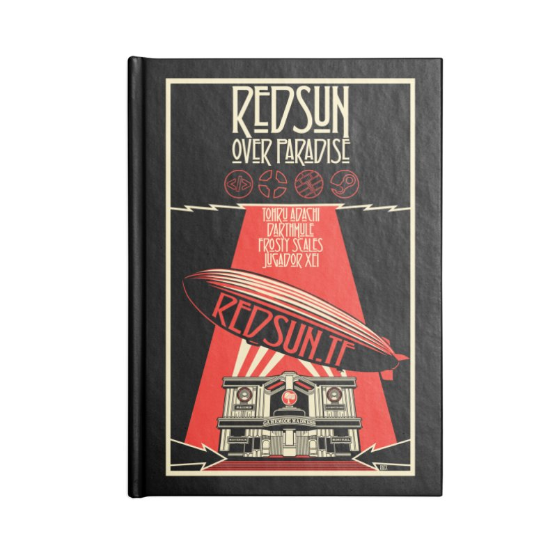 Administrative Mothership Accessories Lined Journal Notebook by redsun.tf merchandise shop
