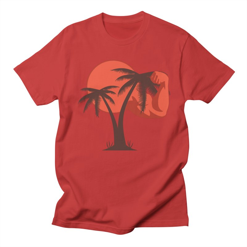 Red Sun Logo Men's T-Shirt by redsun.tf merchandise shop