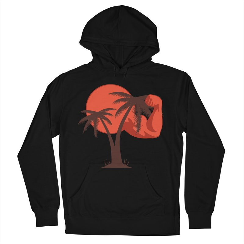 Red Sun Logo Men's French Terry Pullover Hoody by redsun.tf merchandise shop