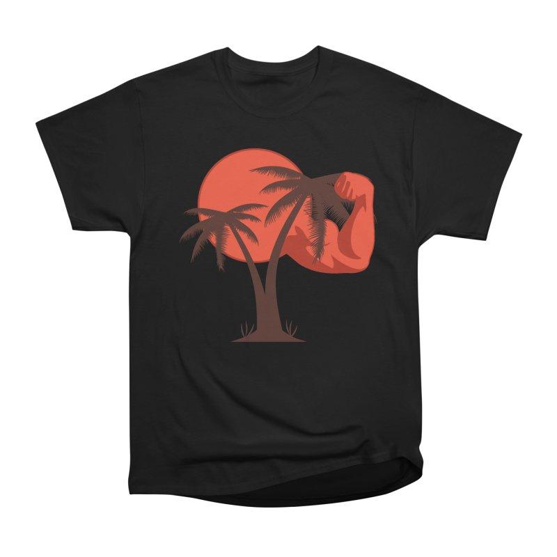 Red Sun Logo Women's Heavyweight Unisex T-Shirt by redsun.tf merchandise shop