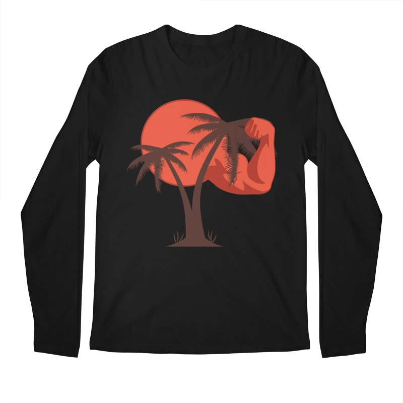 Red Sun Logo Men's Regular Longsleeve T-Shirt by redsun.tf merchandise shop