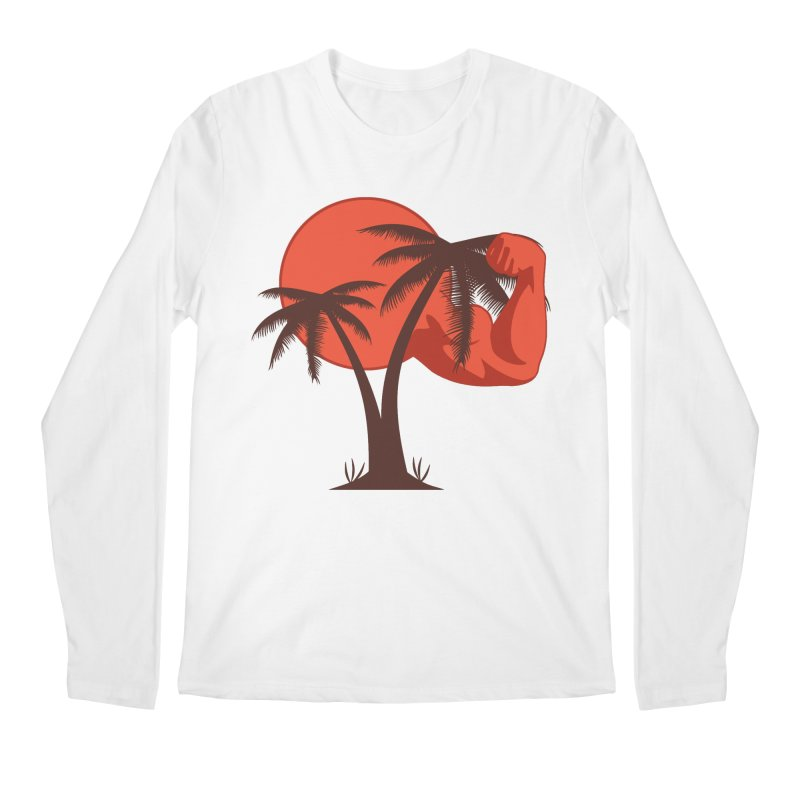 Red Sun Logo Men's Regular Longsleeve T-Shirt by redsun.tf merchandise shop