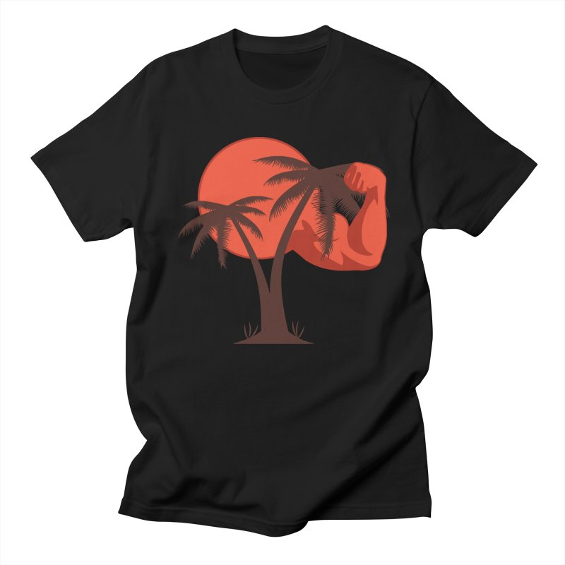 Red Sun Logo Men's Regular T-Shirt by redsun.tf merchandise shop