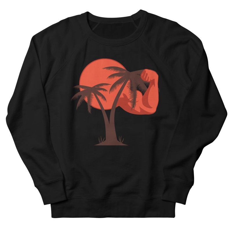 Red Sun Logo Men's French Terry Sweatshirt by redsun.tf merchandise shop