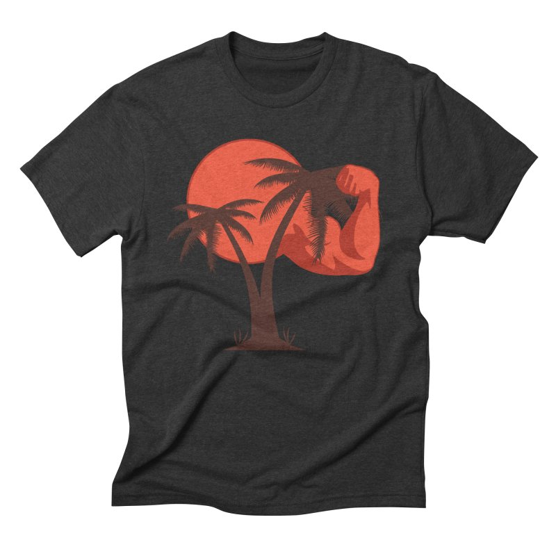 Red Sun Logo Men's Triblend T-Shirt by redsun.tf merchandise shop