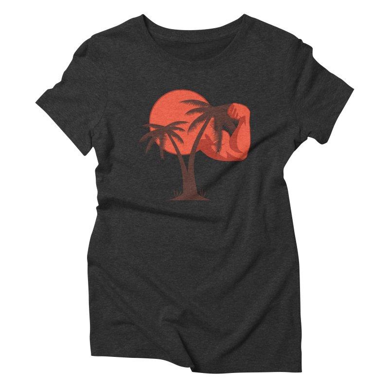Red Sun Logo Women's Triblend T-Shirt by redsun.tf merchandise shop