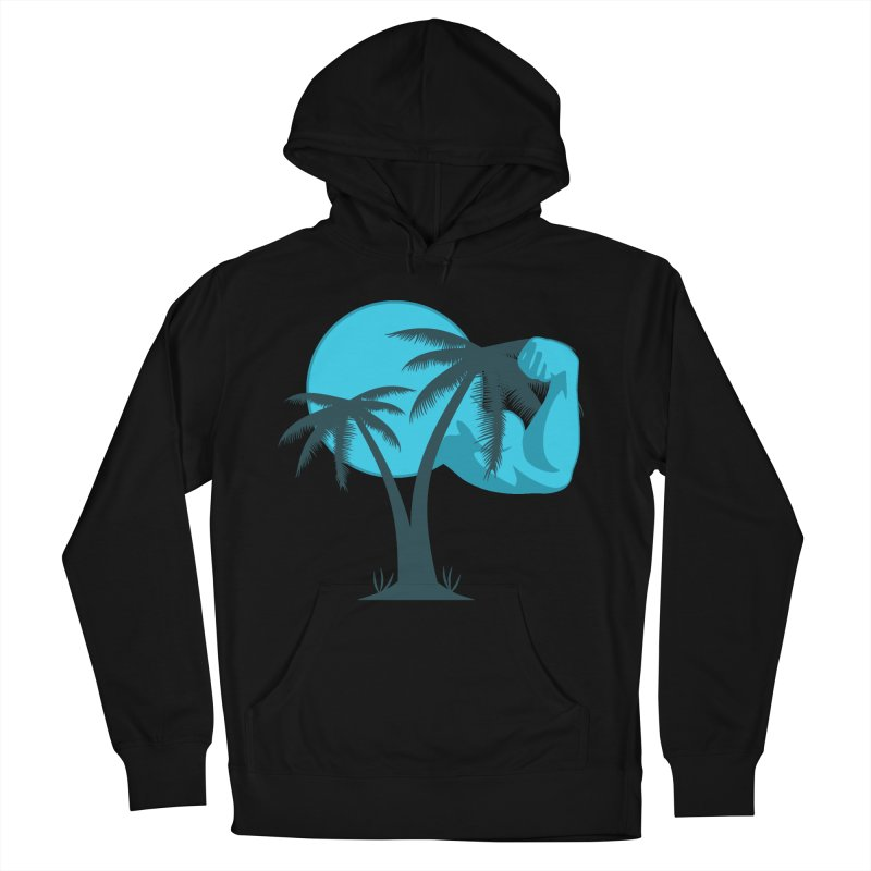 Blue Moon Logo Women's French Terry Pullover Hoody by redsun.tf merchandise shop