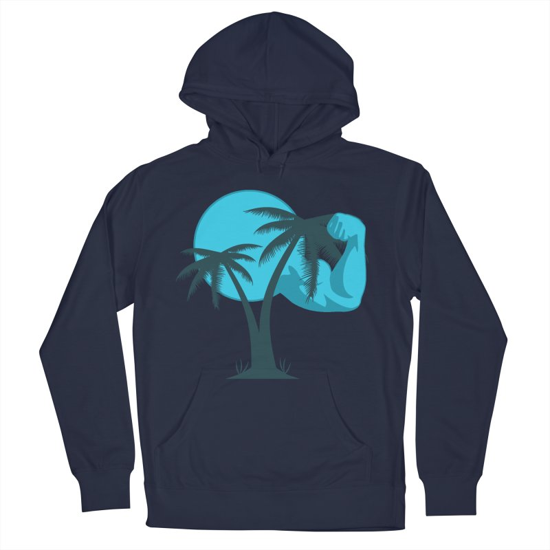 Blue Moon Logo Men's French Terry Pullover Hoody by redsun.tf merchandise shop