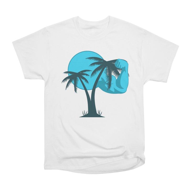 Blue Moon Logo Women's Heavyweight Unisex T-Shirt by redsun.tf merchandise shop