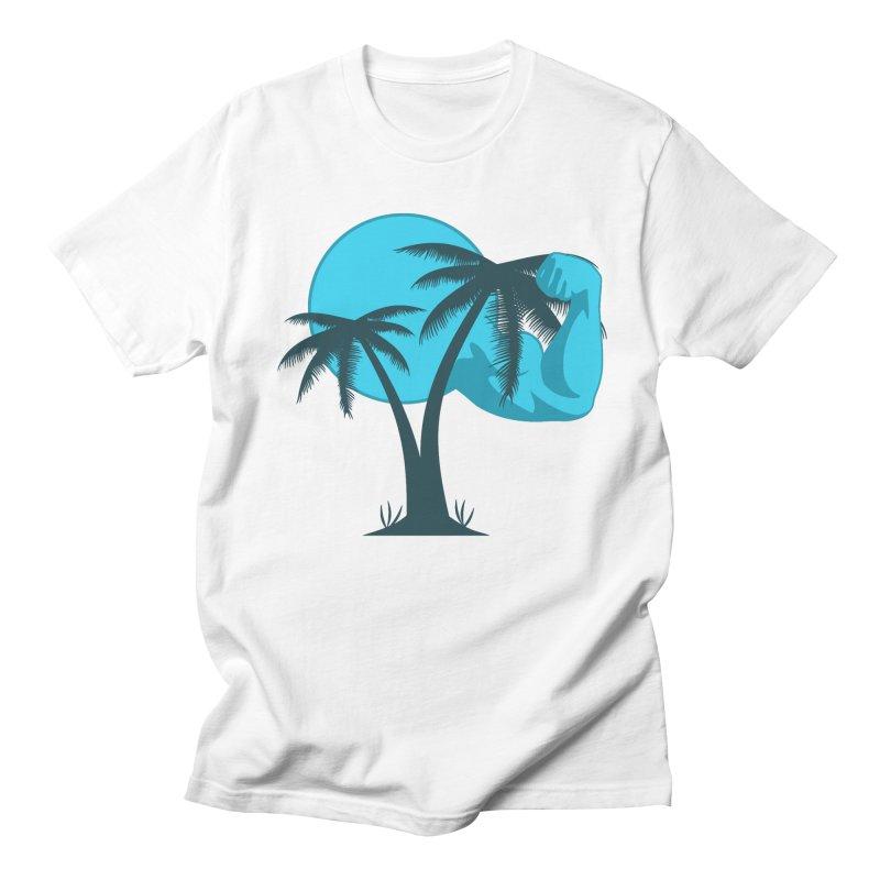 Blue Moon Logo Men's Regular T-Shirt by redsun.tf merchandise shop