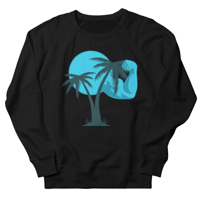 Blue Moon Logo Men's French Terry Sweatshirt by redsun.tf merchandise shop