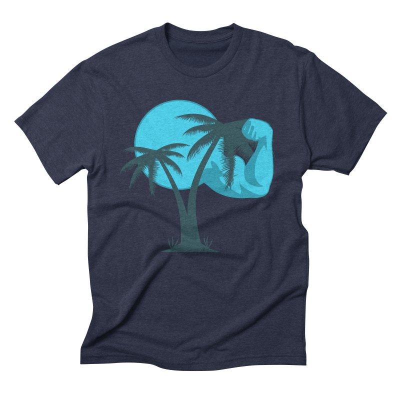 Blue Moon Logo Men's Triblend T-Shirt by redsun.tf merchandise shop