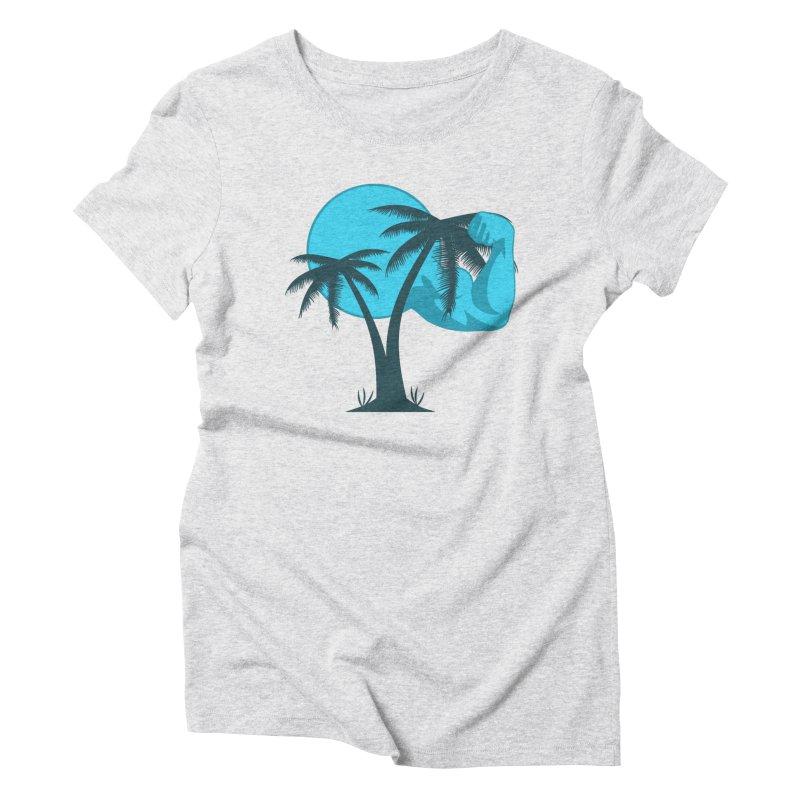Blue Moon Logo Women's Triblend T-Shirt by redsun.tf merchandise shop