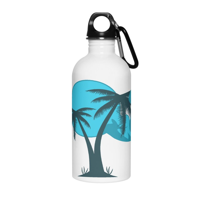 Blue Moon Logo Accessories Water Bottle by redsun.tf merchandise shop