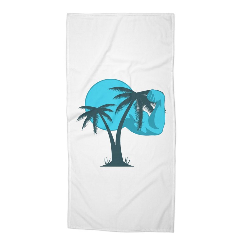 Blue Moon Logo Accessories Beach Towel by redsun.tf merchandise shop