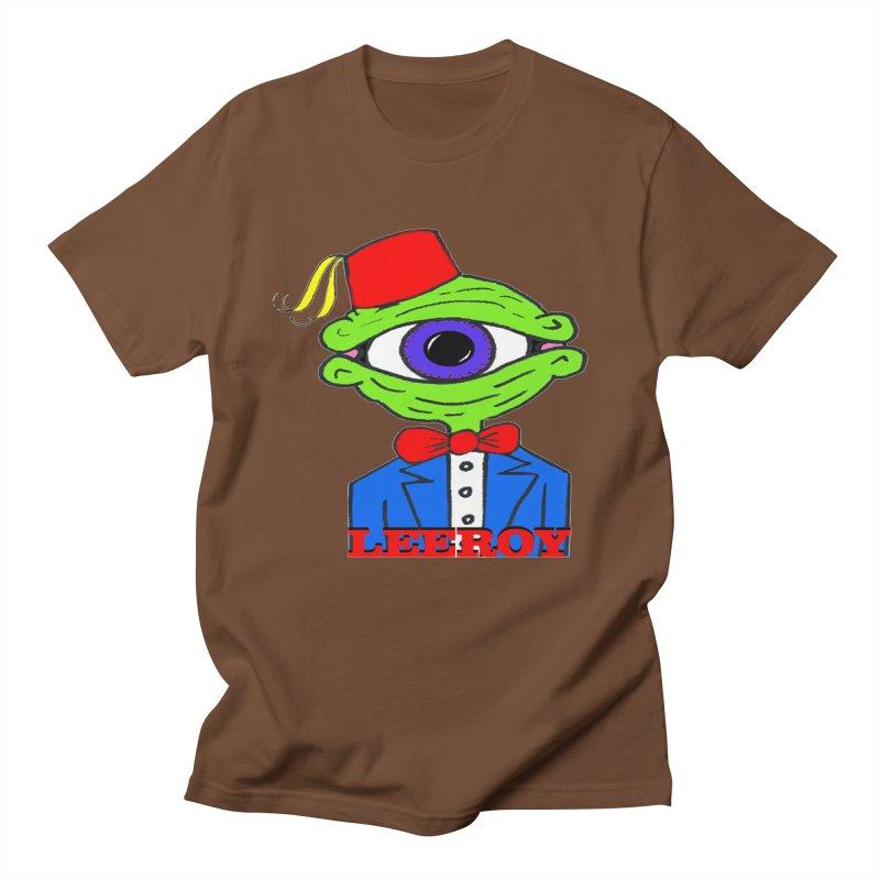 Leeroy Montenegro Men's Regular T-Shirt by Reef Musallam's Artist Shop