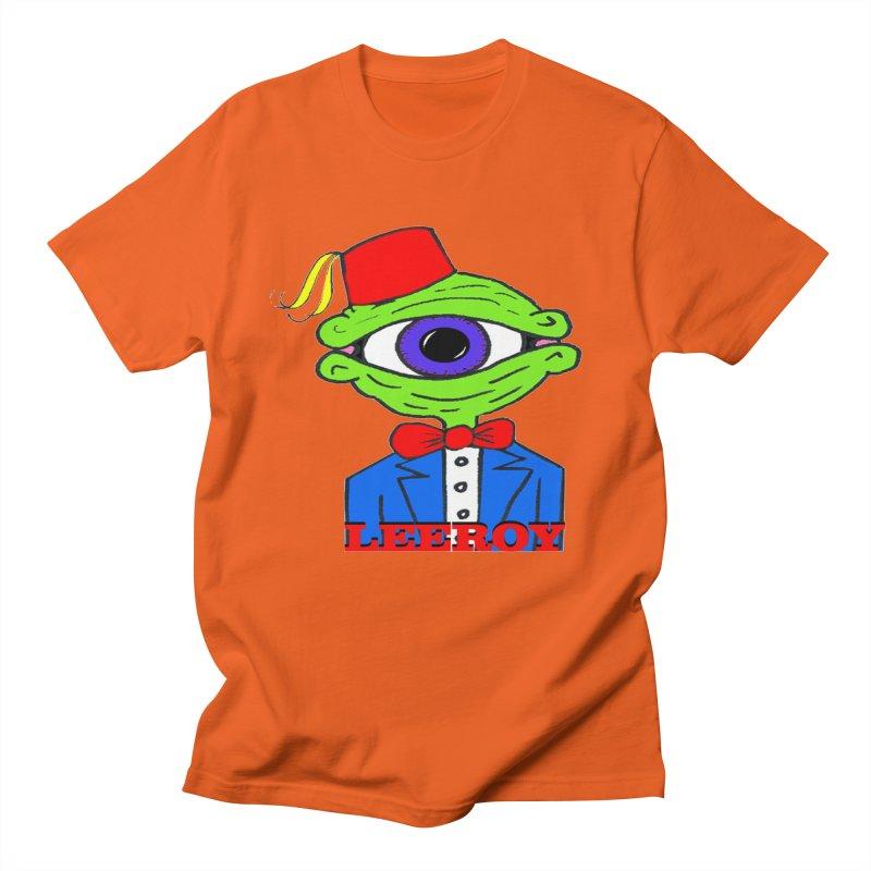 Leeroy Montenegro Men's T-Shirt by Reef Musallam's Artist Shop