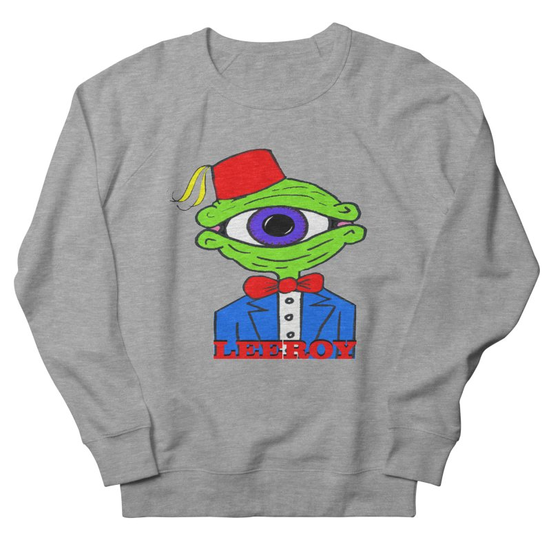 Leeroy Montenegro Men's Sweatshirt by Reef Musallam's Artist Shop