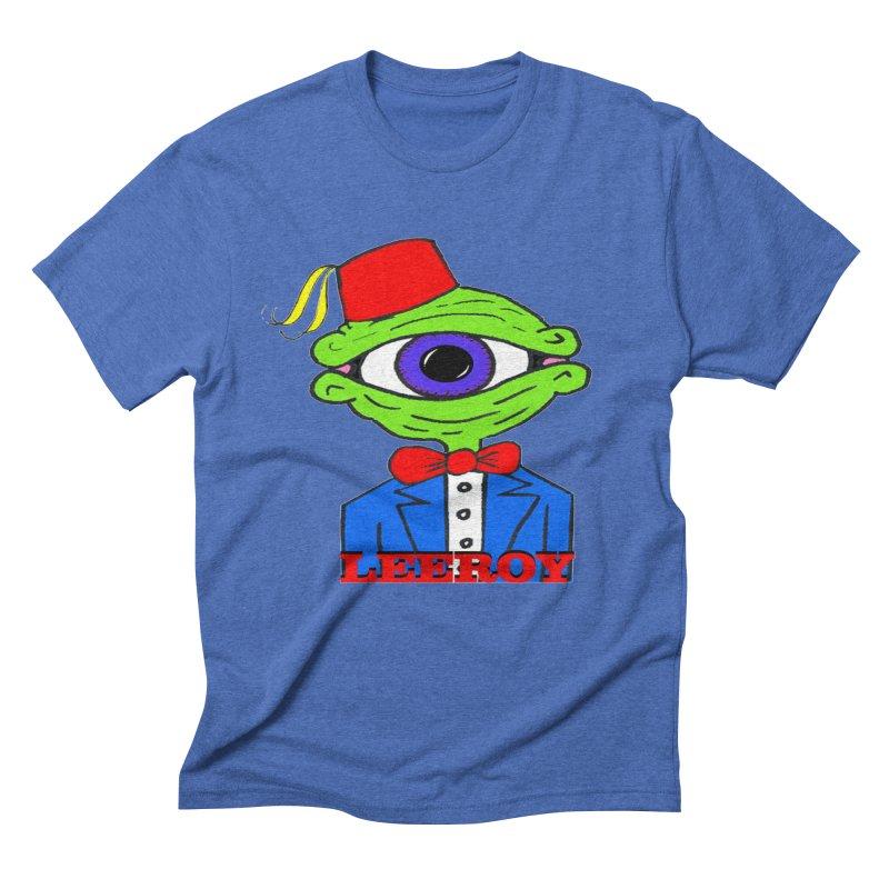 Leeroy Montenegro Men's Triblend T-shirt by Reef Musallam's Artist Shop