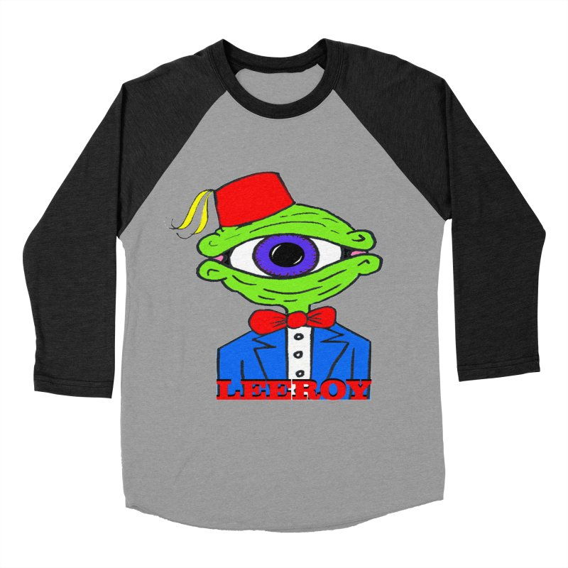 Leeroy Montenegro Men's Baseball Triblend Longsleeve T-Shirt by Reef Musallam's Artist Shop
