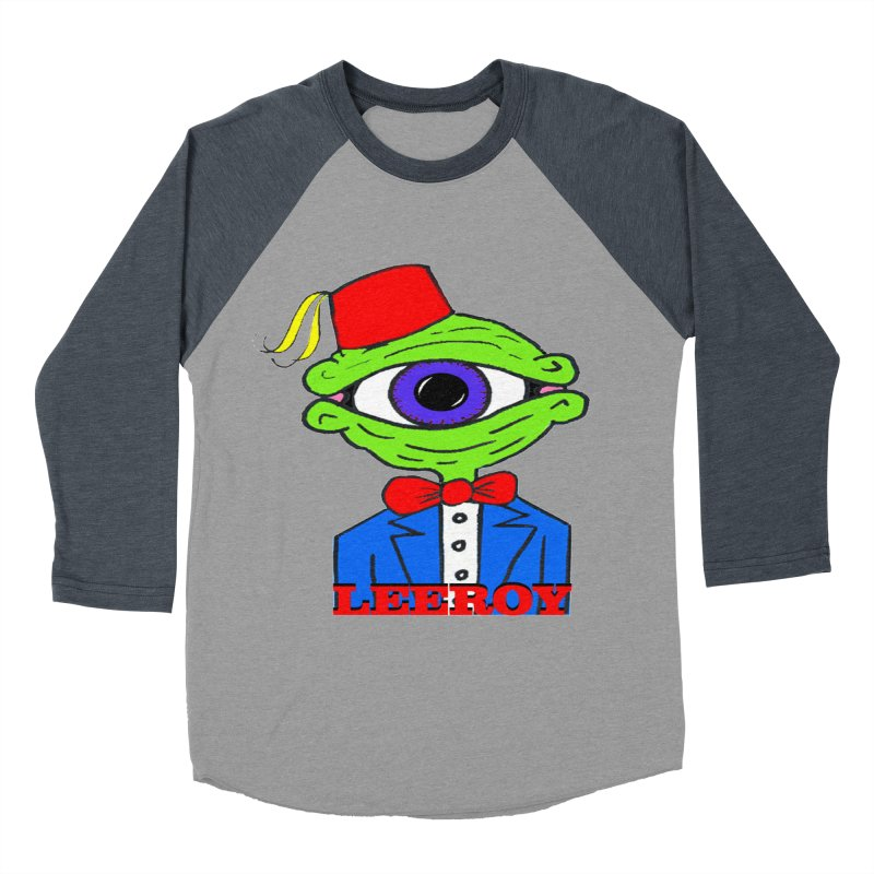 Leeroy Montenegro Men's Baseball Triblend T-Shirt by Reef Musallam's Artist Shop