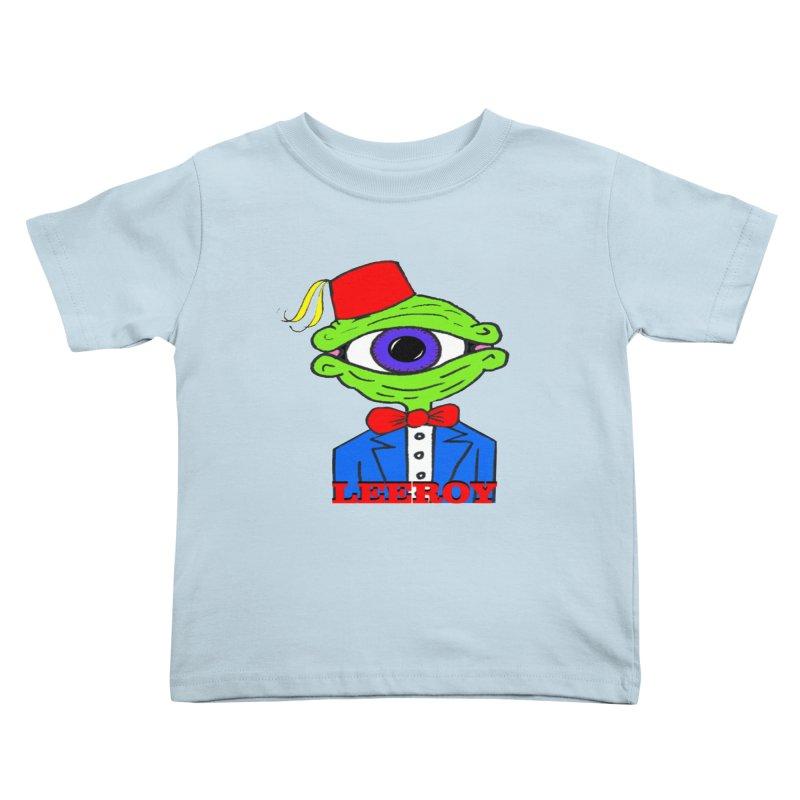 Leeroy Montenegro Kids Toddler T-Shirt by Reef Musallam's Artist Shop
