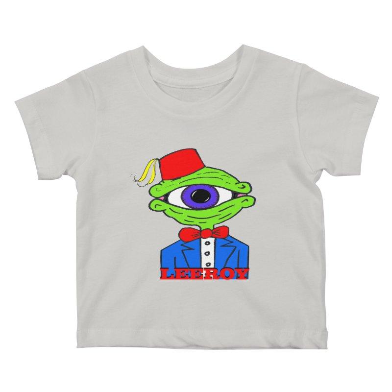 Leeroy Montenegro Kids Baby T-Shirt by Reef Musallam's Artist Shop