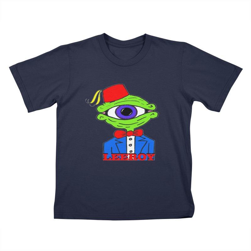 Leeroy Montenegro Kids T-shirt by Reef Musallam's Artist Shop