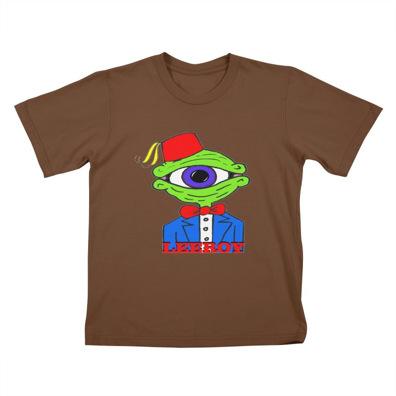 Leeroy Montenegro Kids T-shirt by Reef Musallam's Artist Shop