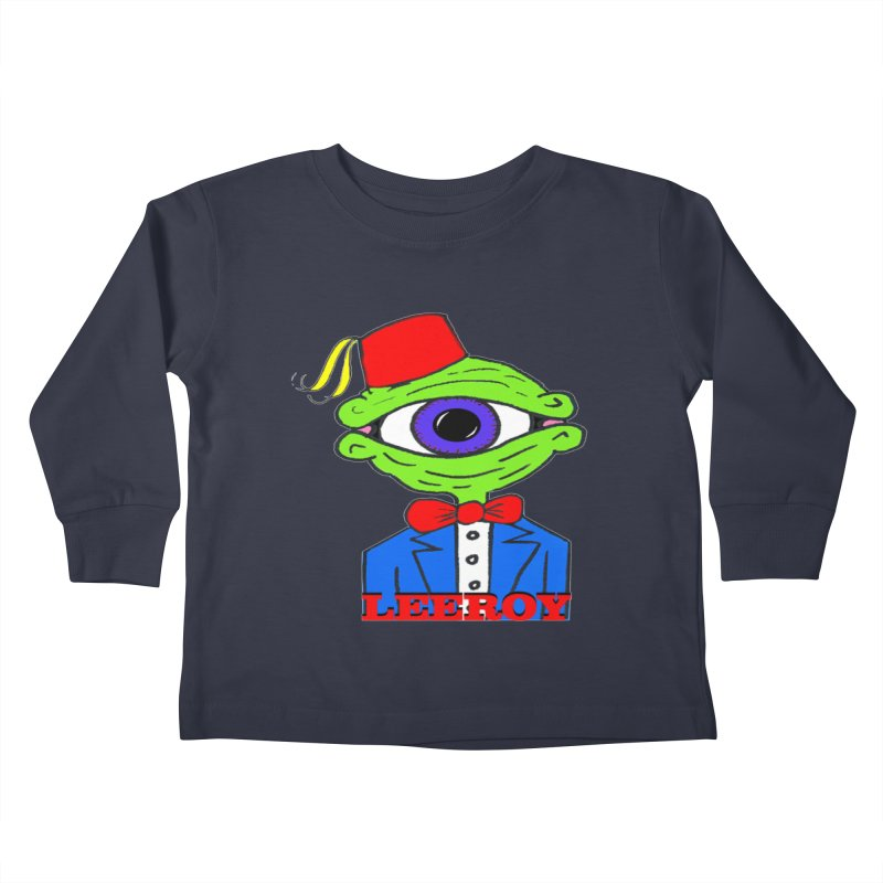 Leeroy Montenegro Kids Toddler Longsleeve T-Shirt by Reef Musallam's Artist Shop