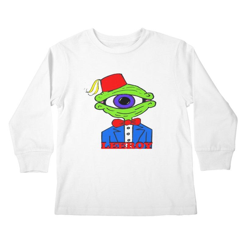 Leeroy Montenegro Kids Longsleeve T-Shirt by Reef Musallam's Artist Shop