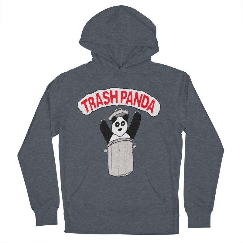 Trash Panda Women's Pullover Hoody by Reef Musallam's Artist Shop