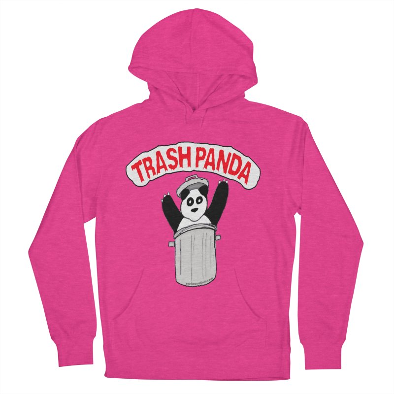 Trash Panda Men's French Terry Pullover Hoody by Reef Musallam's Artist Shop
